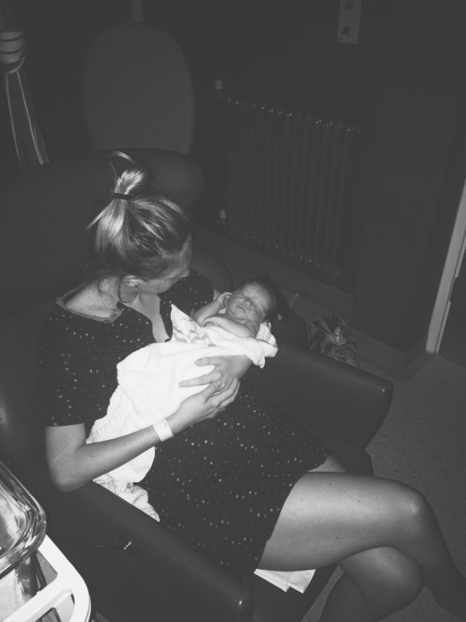 birth story labour mother baby hospital