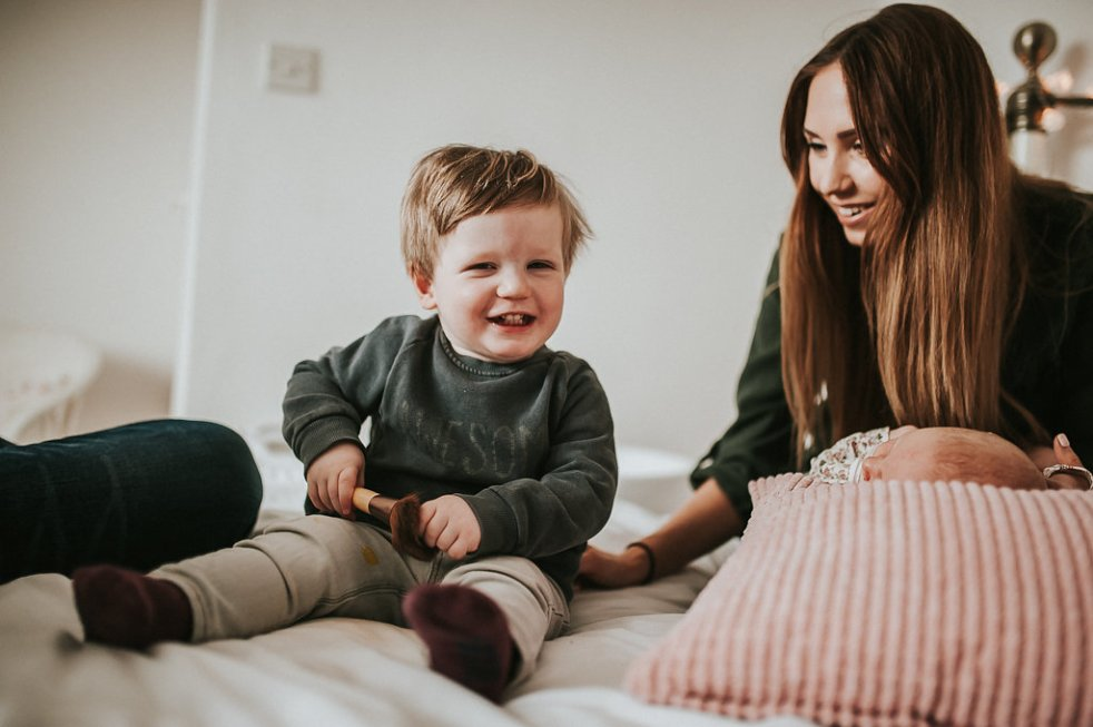 mother son toddler boy love play smile anete lusina photographer